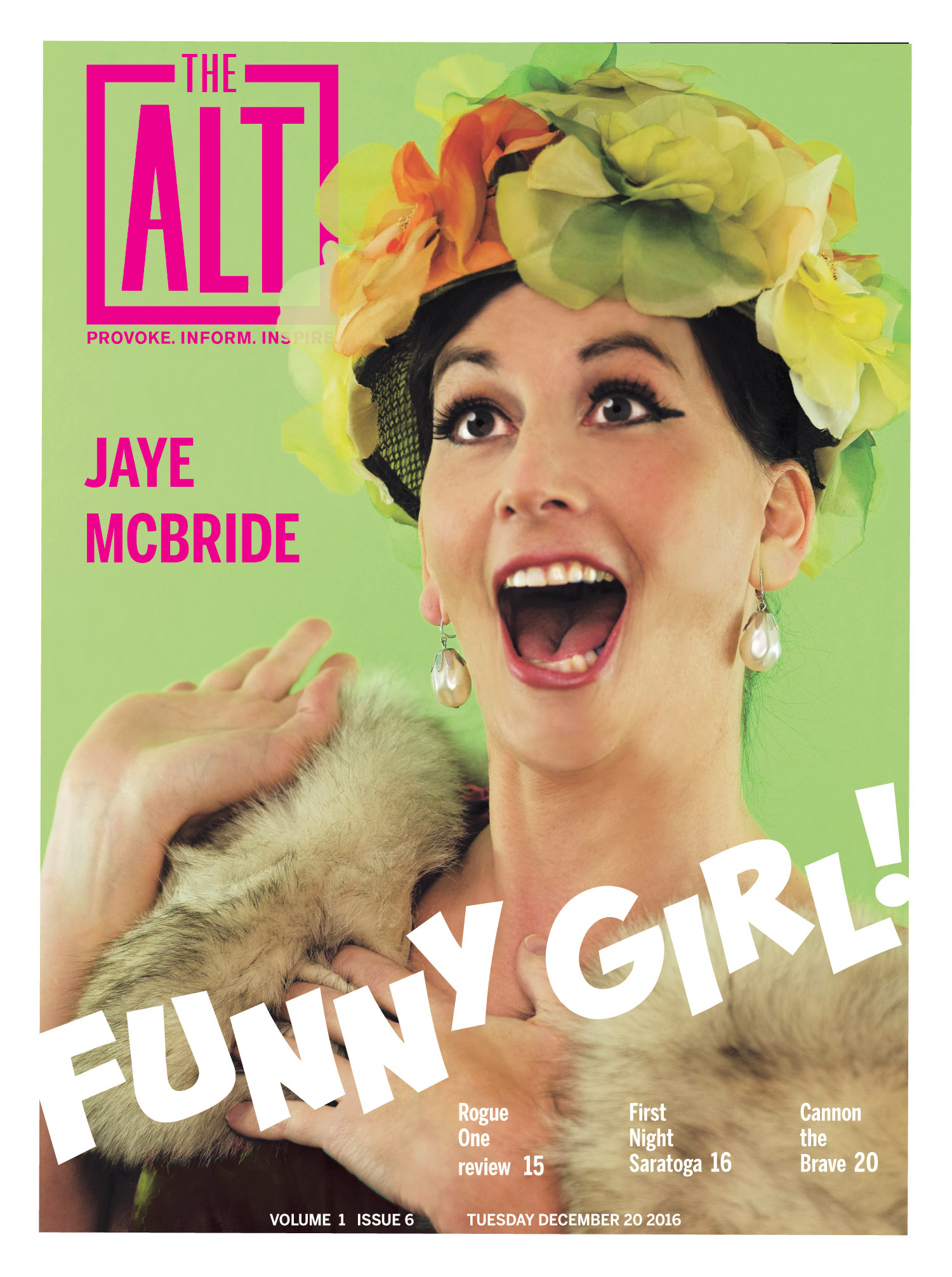 Identity and comedy go hand in hand with funny girl Jaye McBride