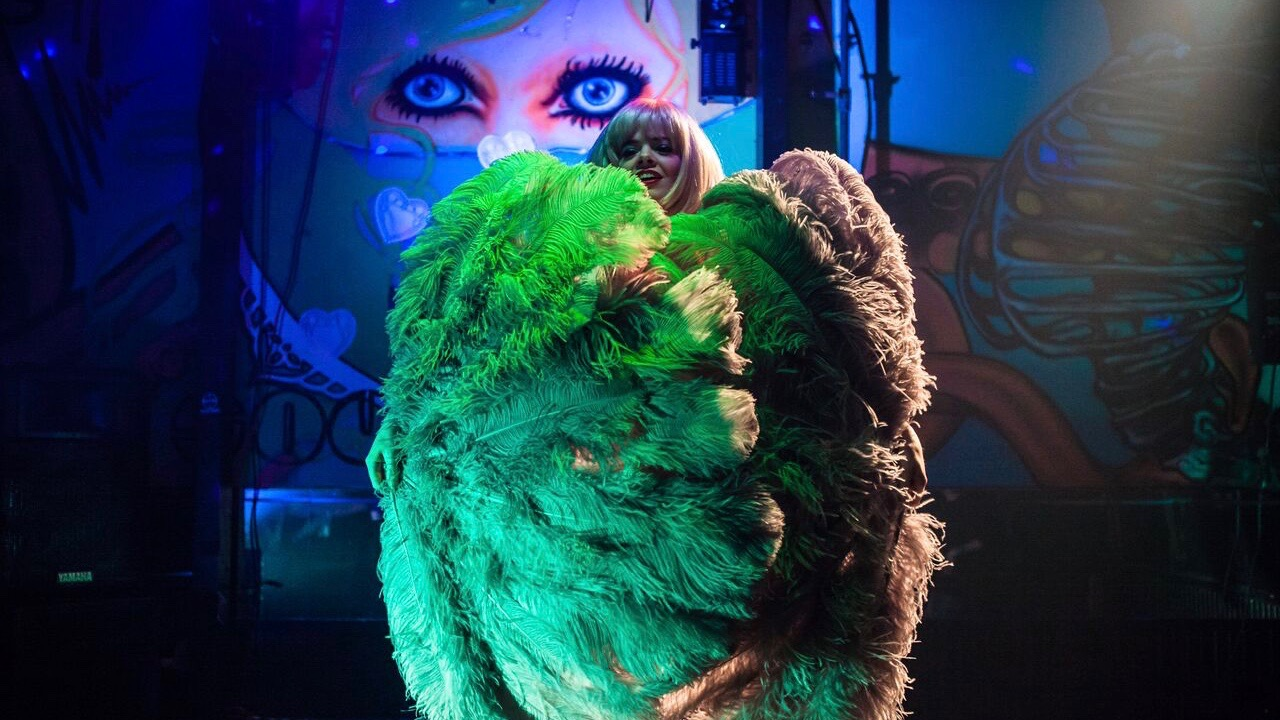 Burlesque is an art, and a surprising local tradition