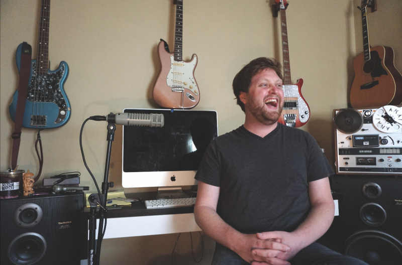 All over the place: The local music scene has a hold on Dan Maddalone