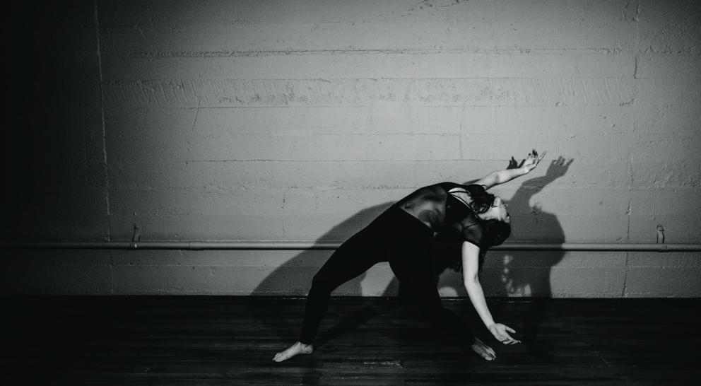 Nadine Medina choreographs to a local beat