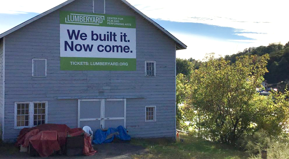 The Lumberyard builds performances in Catskill