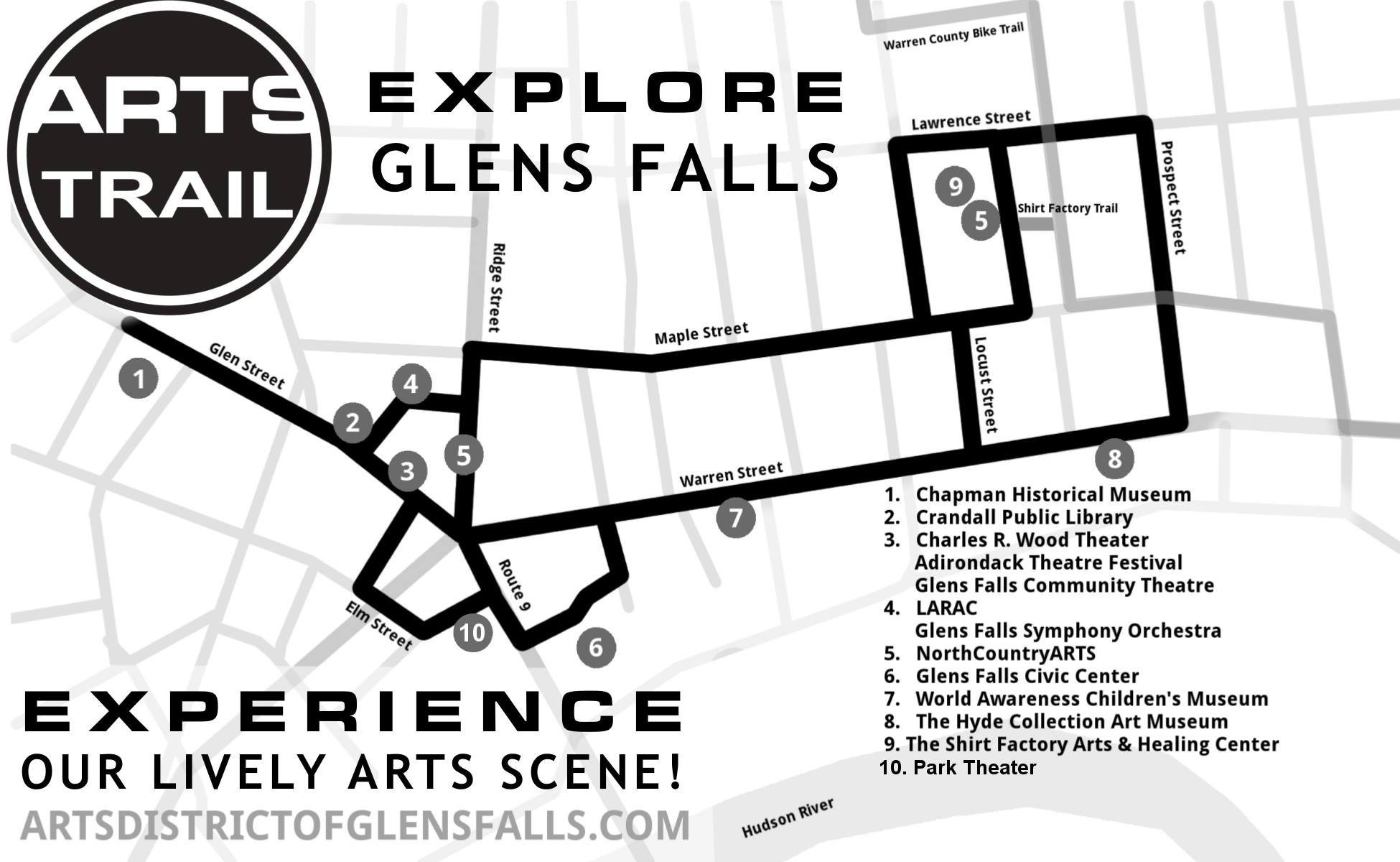 Glens Falls has one trail to connect them all
