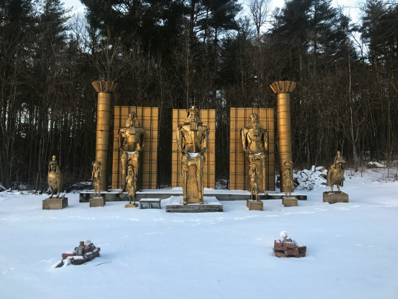 An eclectic winter road trip to Manchester, Vt.