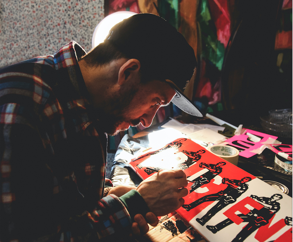 """The artists of Troy's skateboarding exhibit """"In Ply"""""""