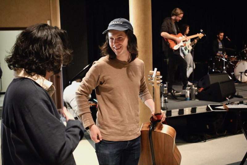 Behind the Scenes: Pinegrove, Another Michael, Greens at The Linda