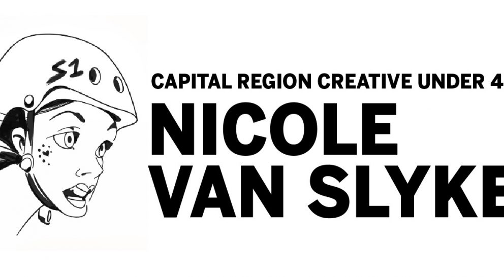 Capital Region Creative Under 40: Nicole Van Slyke