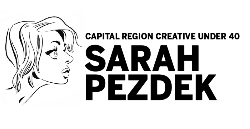 Capital Region Creative Under 40: artist Sarah Pezdek