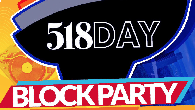 DJ TGIF's second annual 518 Day Block Party celebrates local artists