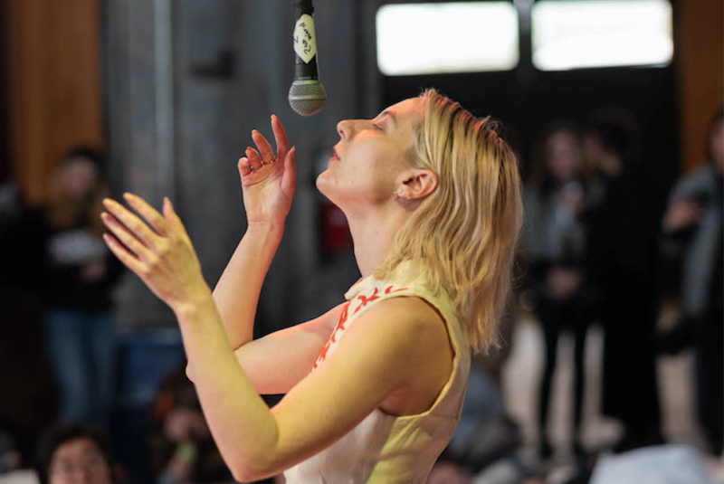 Performance artist Sarah Kinlaw on creating without excuses or explanation