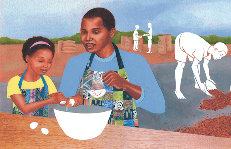 Elizabeth Zunon connects her love for family & chocolate in 'Grandpa Cacao'