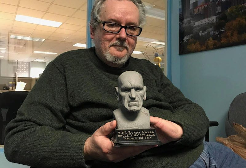 Author Bruce Hallenbeck is a horror film encyclopedia