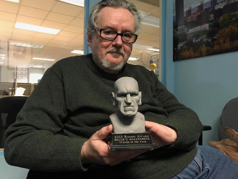 Author Bruce Hallenbeck is a horror film encyclopedia