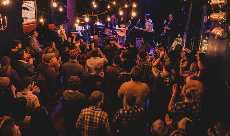 Musicians and venue owners:  'We've gotta show up for each other'